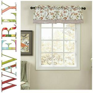 New Waverly Retweet Tate Valance Birds Floral